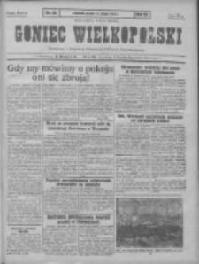 Goniec Wielkopolski: najtańsze pismo codzienne dla wszystkich stanów 1931.02.13 R.55 Nr35