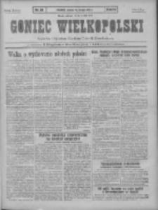 Goniec Wielkopolski: najtańsze pismo codzienne dla wszystkich stanów 1931.02.14 R.55 Nr36