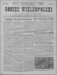 Goniec Wielkopolski: najtańsze pismo codzienne dla wszystkich stanów 1931.02.15 R.55 Nr37