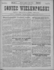 Goniec Wielkopolski: najtańsze pismo codzienne dla wszystkich stanów 1931.02.19 R.55 Nr40+dodatek