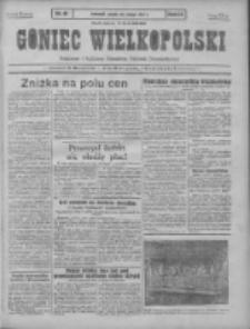 Goniec Wielkopolski: najtańsze pismo codzienne dla wszystkich stanów 1931.02.20 R.55 Nr41