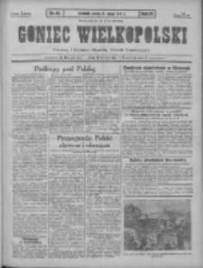 Goniec Wielkopolski: najtańsze pismo codzienne dla wszystkich stanów 1931.02.21 R.55 Nr42