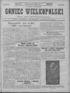 Goniec Wielkopolski: najtańsze pismo codzienne dla wszystkich stanów 1931.02.24 R.55 Nr44