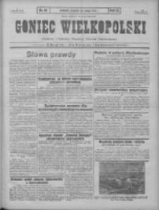 Goniec Wielkopolski: najtańsze pismo codzienne dla wszystkich stanów 1931.02.26 R.55 Nr46