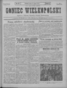 Goniec Wielkopolski: najtańsze pismo codzienne dla wszystkich stanów 1931.02.27 R.55 Nr47