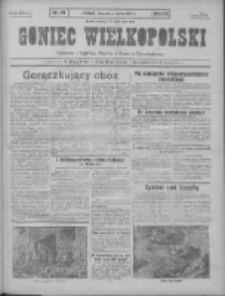 Goniec Wielkopolski: najtańsze pismo codzienne dla wszystkich stanów 1931.03.01 R.55 Nr49