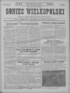 Goniec Wielkopolski: najtańsze pismo codzienne dla wszystkich stanów 1931.03.03 R.55 Nr50