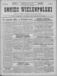 Goniec Wielkopolski: najtańsze pismo codzienne dla wszystkich stanów 1931.03.07 R.55 Nr54