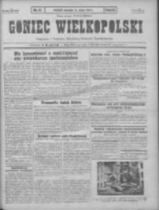 Goniec Wielkopolski: najtańsze pismo codzienne dla wszystkich stanów 1931.03.15 R.55 Nr61