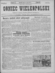 Goniec Wielkopolski: najtańsze pismo codzienne dla wszystkich stanów 1931.03.18 R.55 Nr63