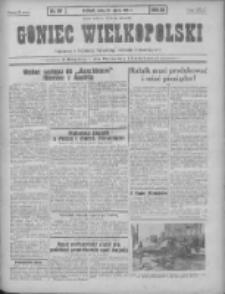 Goniec Wielkopolski: najtańsze pismo codzienne dla wszystkich stanów 1931.03.25 R.55 Nr69