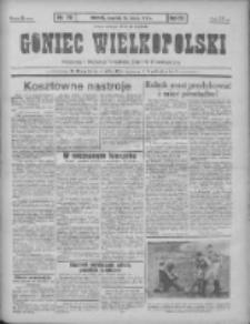 Goniec Wielkopolski: najtańsze pismo codzienne dla wszystkich stanów 1931.03.26 R.55 Nr70+dodatek