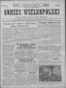 Goniec Wielkopolski: najtańsze pismo codzienne dla wszystkich stanów 1931.04.09 R.55 Nr81+dodatek