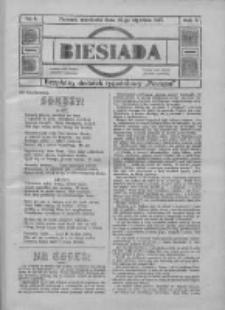 """Biesiada: bezpłatny dodatek tygodniowy """"Postępu"""" 1917.01.14 R.5 Nr2"""