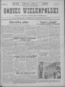 Goniec Wielkopolski: najtańsze pismo codzienne dla wszystkich stanów 1931.04.11 R.55 Nr83