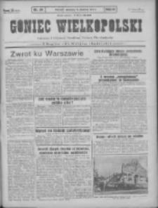 Goniec Wielkopolski: najtańsze pismo codzienne dla wszystkich stanów 1931.04.12 R.55 Nr84