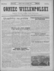 Goniec Wielkopolski: najtańsze pismo codzienne dla wszystkich stanów 1931.04.14 R.55 Nr85