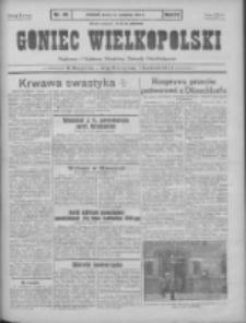 Goniec Wielkopolski: najtańsze pismo codzienne dla wszystkich stanów 1931.04.15 R.55 Nr86
