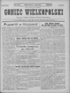 Goniec Wielkopolski: najtańsze pismo codzienne dla wszystkich stanów 1931.04.17 R.55 Nr88