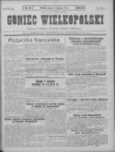Goniec Wielkopolski: najtańsze pismo codzienne dla wszystkich stanów 1931.04.21 R.55 Nr91