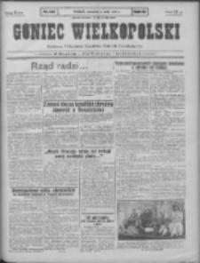 Goniec Wielkopolski: najtańsze pismo codzienne dla wszystkich stanów 1931.05.07 R.55 Nr105+dodatek