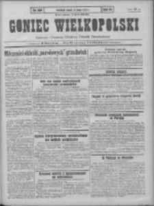 Goniec Wielkopolski: najtańsze pismo codzienne dla wszystkich stanów 1931.05.08 R.55 Nr106