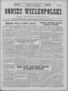 Goniec Wielkopolski: najtańsze pismo codzienne dla wszystkich stanów 1931.05.20 R.55 Nr115