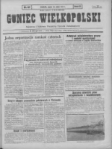 Goniec Wielkopolski: najtańsze pismo codzienne dla wszystkich stanów 1931.05.22 R.55 Nr117