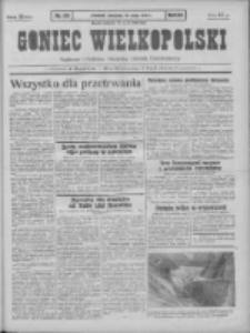 Goniec Wielkopolski: najtańsze pismo codzienne dla wszystkich stanów 1931.05.24 R.55 Nr119