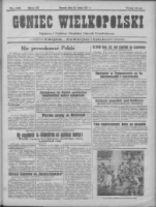 Goniec Wielkopolski: najtańsze pismo codzienne dla wszystkich stanów 1931.05.30 R.55 Nr123