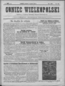 Goniec Wielkopolski: najtańsze pismo codzienne dla wszystkich stanów 1931.06.11 R.55 Nr132