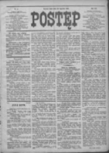Postęp 1908.01.22 R.19 Nr17