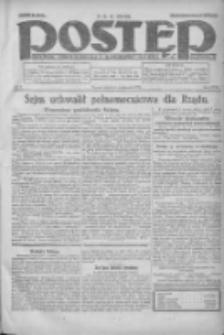 Postęp: dziennik chrześcijański i narodowy: wychodzi w Poznaniu 1924.01.06 R.35 Nr5
