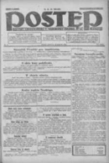 Postęp: dziennik chrześcijański i narodowy: wychodzi w Poznaniu 1924.01.10 R.35 Nr8