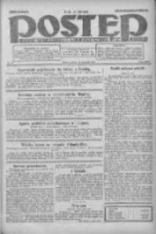 Postęp: dziennik chrześcijański i narodowy: wychodzi w Poznaniu 1924.01.12 R.35 Nr10