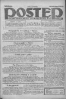 Postęp: dziennik chrześcijański i narodowy: wychodzi w Poznaniu 1924.01.22 R.35 Nr18