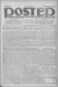 Postęp: dziennik chrześcijański i narodowy: wychodzi w Poznaniu 1924.01.30 R.35 Nr25
