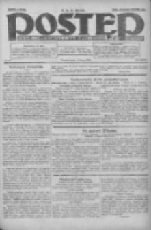 Postęp: dziennik chrześcijański i narodowy: wychodzi w Poznaniu 1924.02.06 R.35 Nr30