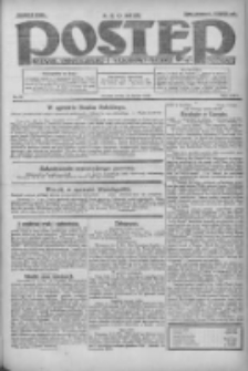 Postęp: dziennik chrześcijański i narodowy: wychodzi w Poznaniu 1924.02.13 R.35 Nr36