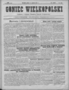Goniec Wielkopolski: najtańsze pismo codzienne dla wszystkich stanów 1931.06.13 R.55 Nr134