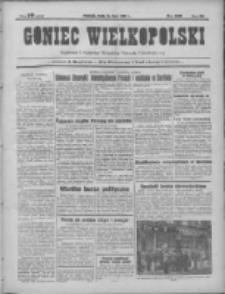 Goniec Wielkopolski: najtańsze pismo codzienne dla wszystkich stanów 1931.07.15 R.55 Nr160