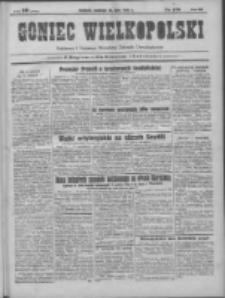 Goniec Wielkopolski: najtańsze pismo codzienne dla wszystkich stanów 1931.07.26 R.55 Nr170