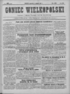 Goniec Wielkopolski: najtańsze pismo codzienne dla wszystkich stanów 1931.08.06 R.55 Nr179