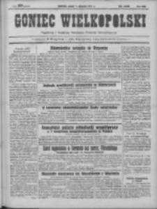 Goniec Wielkopolski: najtańsze pismo codzienne dla wszystkich stanów 1931.08.07 R.55 Nr180