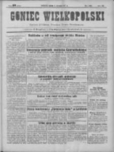 Goniec Wielkopolski: najtańsze pismo codzienne dla wszystkich stanów 1931.08.08 R.55 Nr181