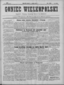 Goniec Wielkopolski: najtańsze pismo codzienne dla wszystkich stanów 1931.08.11 R.55 Nr183