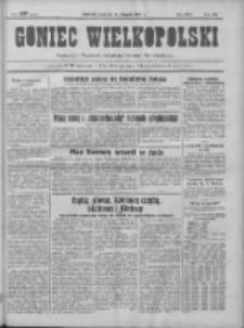 Goniec Wielkopolski: najtańsze pismo codzienne dla wszystkich stanów 1931.08.13 R.55 Nr185