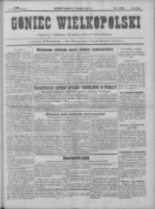 Goniec Wielkopolski: najtańsze pismo codzienne dla wszystkich stanów 1931.08.14 R.55 Nr186