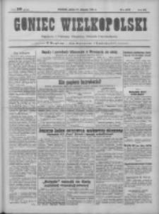Goniec Wielkopolski: najtańsze pismo codzienne dla wszystkich stanów 1931.08.15 R.55 Nr187