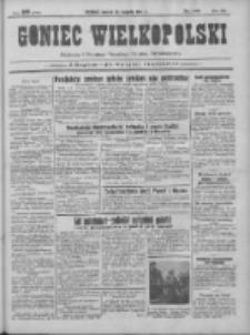 Goniec Wielkopolski: najtańsze pismo codzienne dla wszystkich stanów 1931.08.18 R.55 Nr188